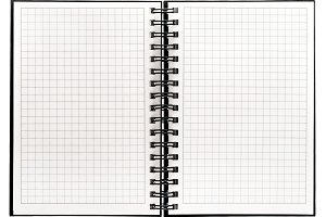 Note book with spiral binder