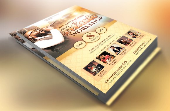 Church Music Workshop Flyer ~ Flyer Templates ~ Creative Market