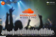 SoundCloud PRO - Adobe Muse Widget