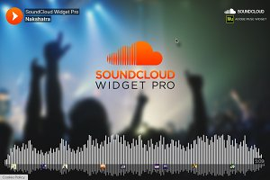 SoundCloud PRO - Adobe Muse Widget