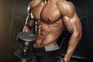 Fitness muscular body