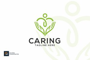 Caring - Care Logo