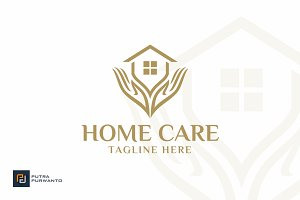 Home Care - House Logo