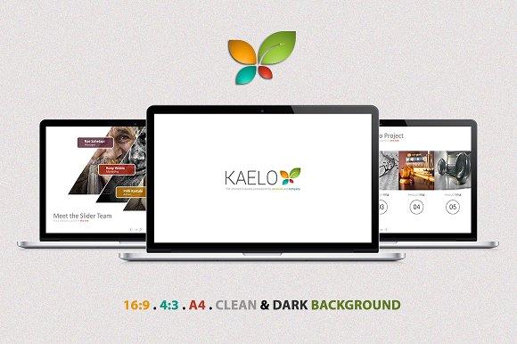 Kaelo Powerpoint-Graphicriver中文最全的素材分享平台
