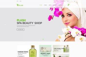 Plash – Spa Beauty Shop Template