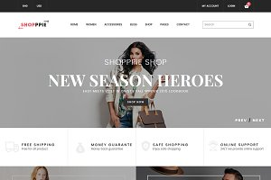 Shopppie-eCommerce Fashion Template