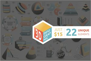 3D Infographic Bundle