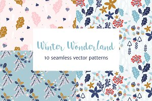 Winter Wonderland Christmas Patterns