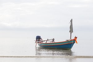 Small fishing boat