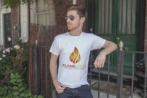 Flame Logo Template