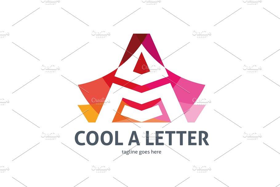 Cool Letter I Logo.Cool A Letter Logo Logo Templates Creative Market