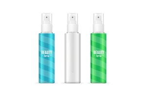 Beauty Spray Can Package Set