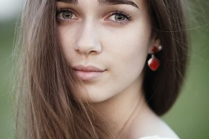 Beautiful girl portrait