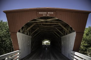 Roseman Covered Bridge - Iowa