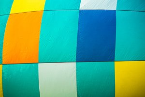 Quilted Hot Air Balloon