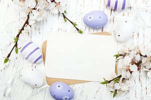 Easter greeting card