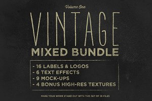 Vintage Mixed Bundle Vol.1