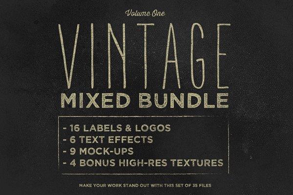 Vintage Mixed Bundle Vol.1