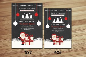 Christmas Invitation Flyer-V416