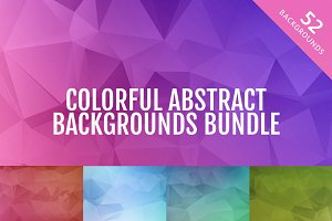Colorful Abstract Backgrounds Bundle