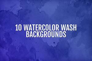 Watercolor Wash Backgrounds