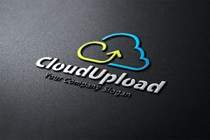 Cloud Upload Logo