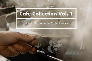 Cafe Collection Vol. 1 - PSD Mockups