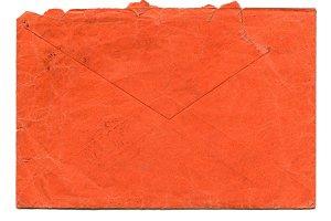 Red letter envelope