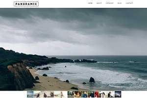 Panoramic Responsive WordPress Theme