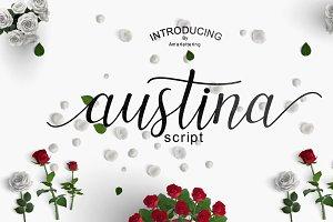 Austina Script - 50 % OFF