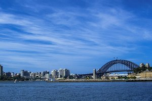 Sydney Skyline (Harbour Bridge)