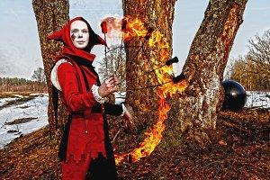 Pyromaniac.
