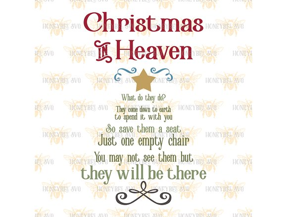 christmas in heaven tree illustrations creative market