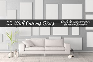 Canvas Mockups Vol 12