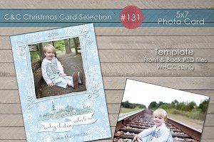Christmas Photo Card Selection #131
