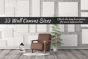 Canvas Mockups Vol 14