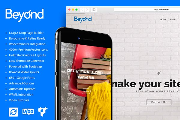 Beyond All In One WordPress Theme