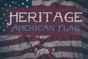 Heritage American Flag Pack