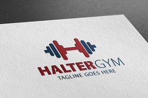 Halter Gym Logo