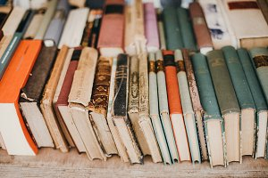 Antiqued Books