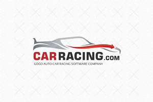 Car Racing Logo Template