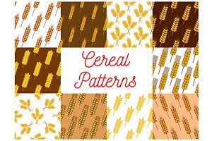 Cereal seamless patterns