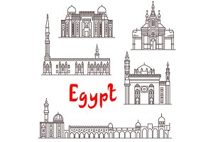 Famous showplaces of Egypt