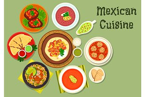 Mexican cuisine national dishes