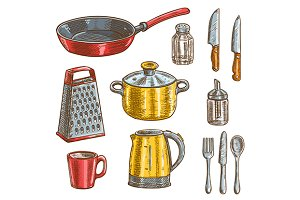 Kitchen and cooking utensil