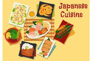Japanese cuisine seafood