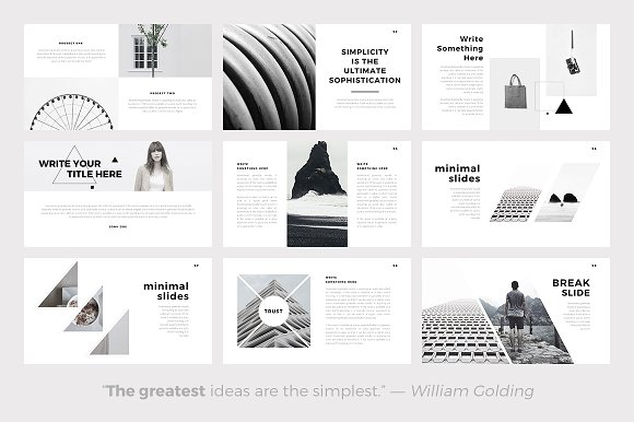 Sphere minimal powerpoint template presentation templates sphere minimal powerpoint template presentation templates creative market toneelgroepblik Image collections