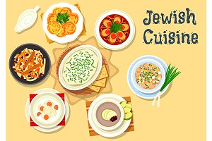 Jewish cuisine kosher dishes