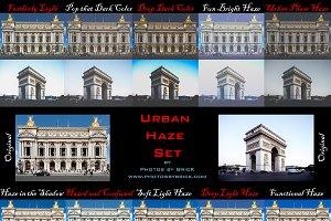 10 Photoshop Urban Actions: Hazes