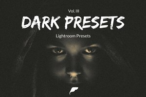 35+ Dark Lightroom Presets Vol. II